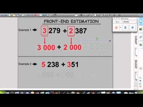 Front End Estimation