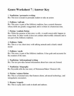 Vocabulary Practice: Nonfiction Genre