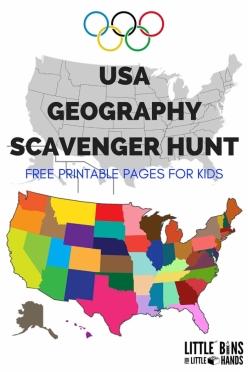 State Scavenger Hunt