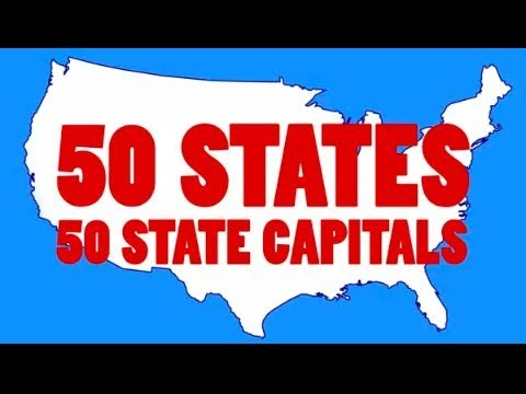 Learn The  Us State Capitals And  State Abbreviations