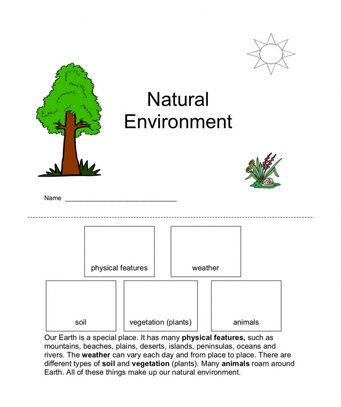 Lesson  Natural Resources On Earth