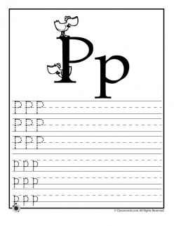 Alphabet Practice: P