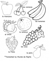 multilingual printables fruits and vegetables in languages free 8