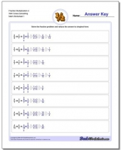multiplying fraction worksheets  with a focus on cross cancelling 9