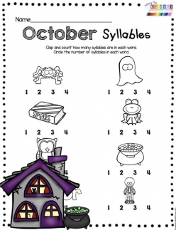 Clapping Syllables: Months