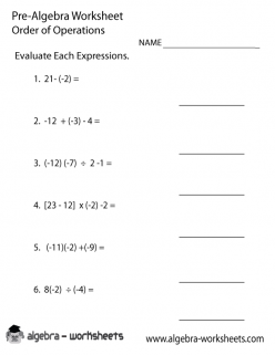 Evaluating Expressions: Order Of Operations With Exponents
