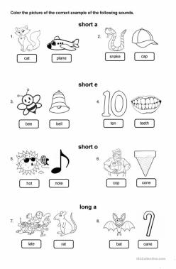 """Short Vowel Sounds: """"I"""""""