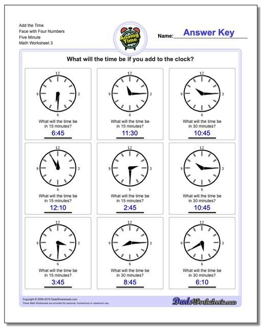 These Printable Telling Time Worksheets Are A Great Way To