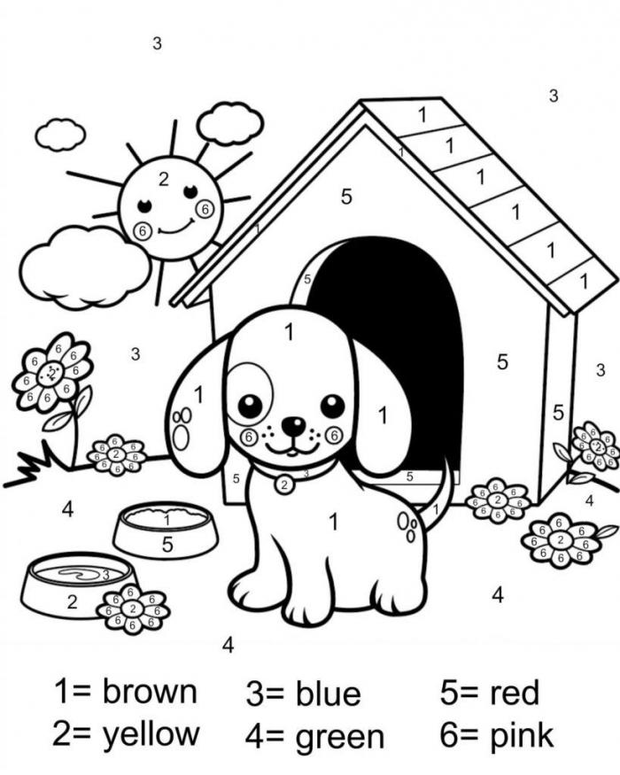 Worksheet  Free Printables To Color Worksheet By Number Coloring