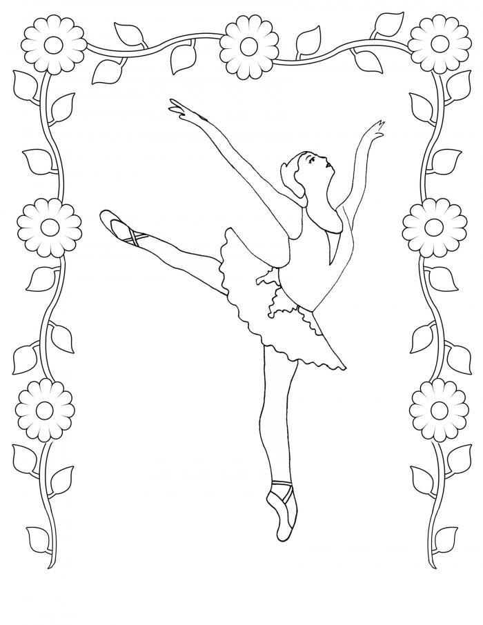 Worksheets  Dance Coloring Best For Kids Daddy Ballet Dancer Cool