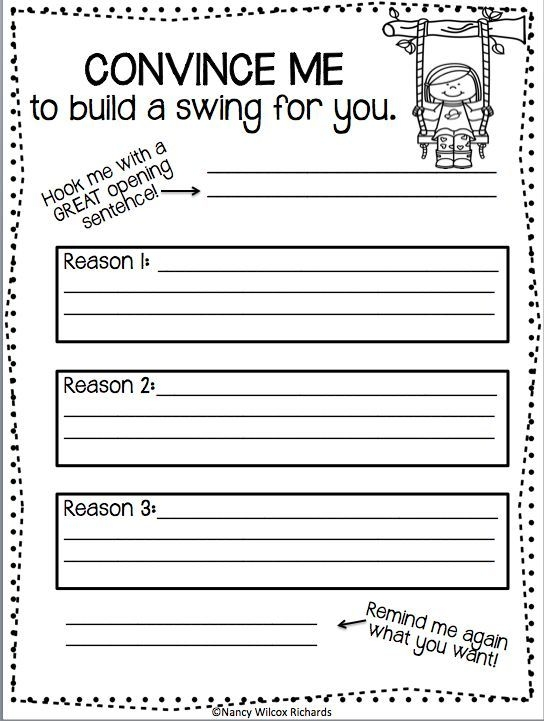 Writing Activities For First Grade  Second Grade For Spring