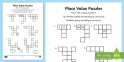 Place Value Puzzle