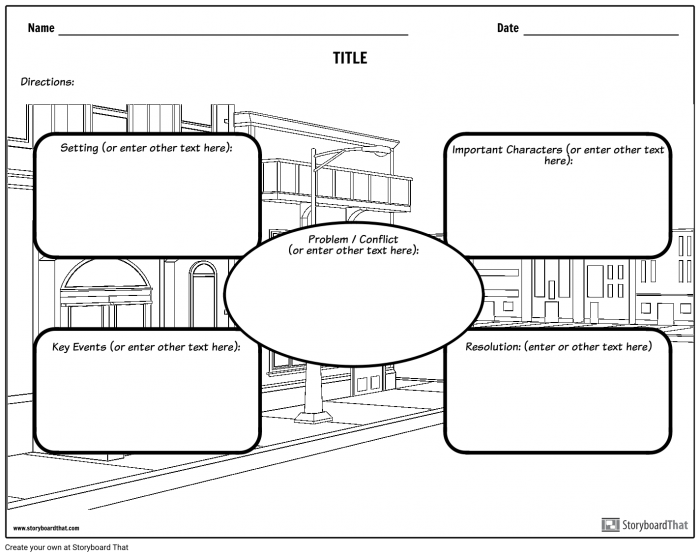 Create A Story Map Worksheets 99Worksheets