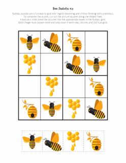 Bee Sudoku