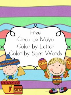 Color A Cinco De Mayo Fiesta