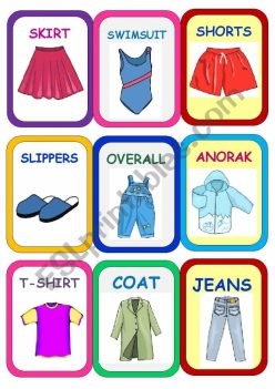 Clothes Matching Game