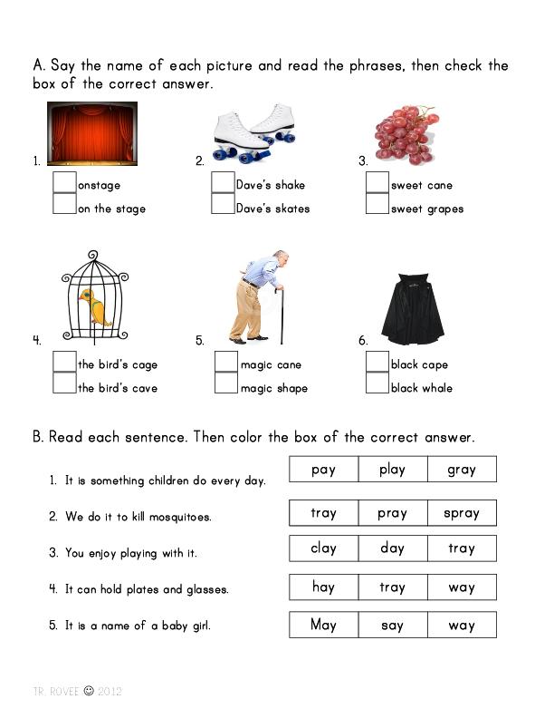 English Pronunciation Worksheets For Esl