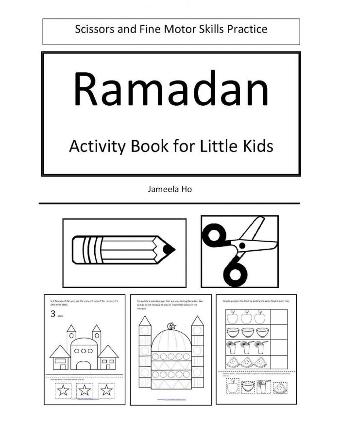 Free Download Ramadan Activity Book For Little Kids