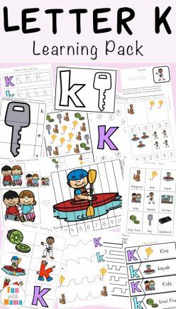 Learning The Letter K