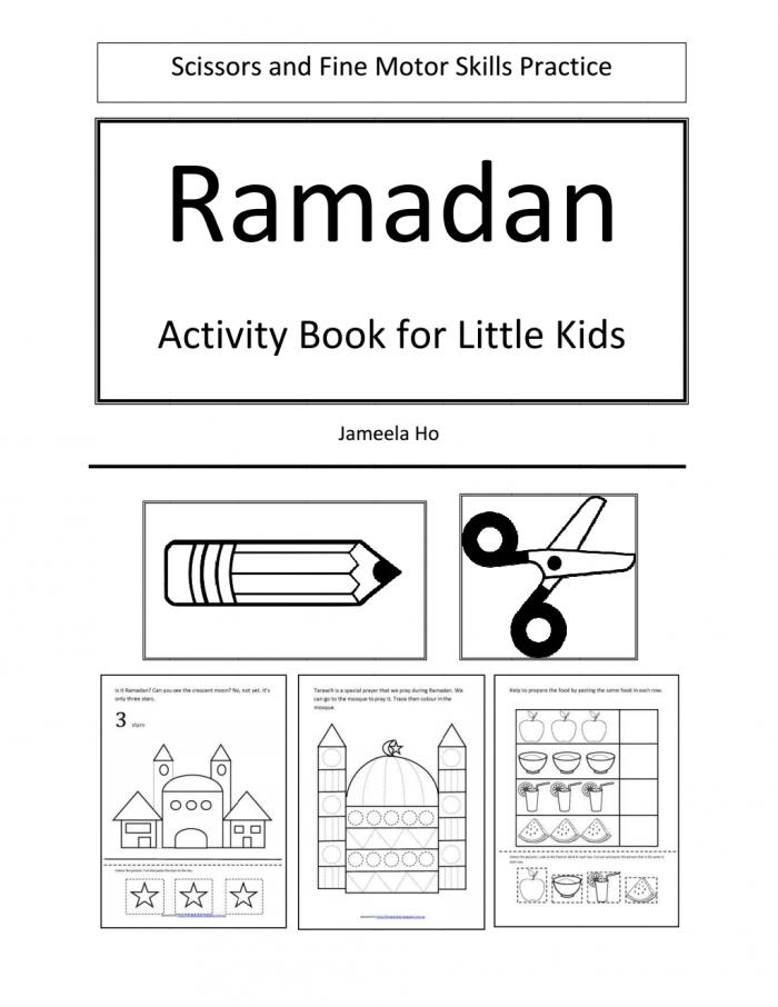Ramadan Activity Book For Little Kidspdf