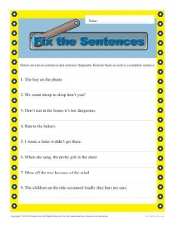 Sentence Structure: Sentence Or Fragment?