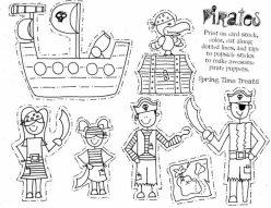 Paper Puppet: Pirate