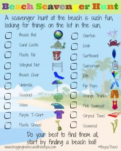 Tourist In Your Town: Scavenger Hunt