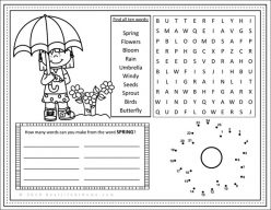 Butterfly Activity Placemat