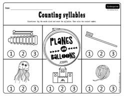 Phonemic Awareness: Syllables