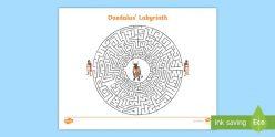 Greek Mythology Maze