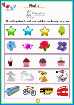 What Doesn't Belong?: Shapes, Letters, And Numbers