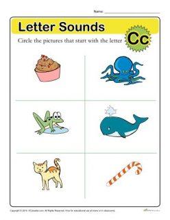 Letter Sounds: C