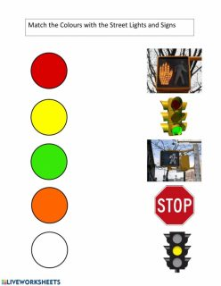 Make A Match: Street Signs