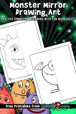 Finish The Drawing: Draw The Monster!