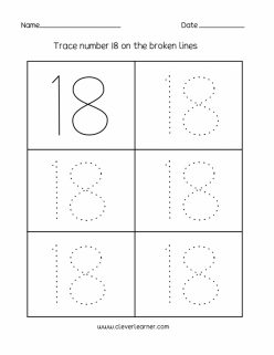 Tracing Numbers And Counting: 18