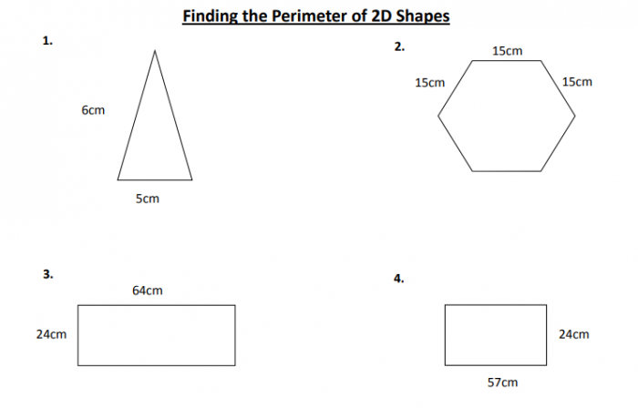 Of The Best Perimeter Problems For Primary Maths  Teaching