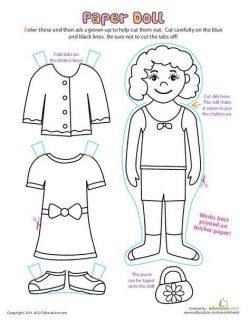 Make A Paper Doll: Nurse