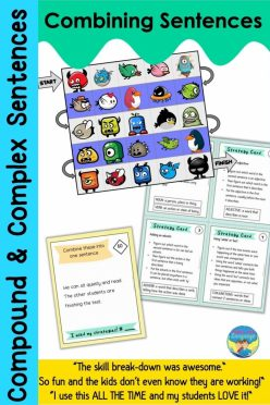 Transition Words And Phrases: Task Cards