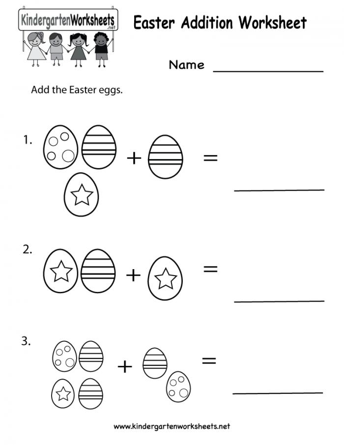 Preschool Easter Counting Worksheets  Brian Molko