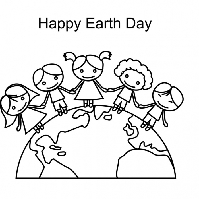 Earth Coloring Page Worksheets 99worksheets