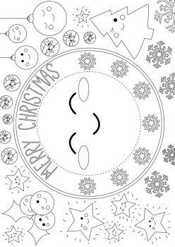 Clock Activity Placemat
