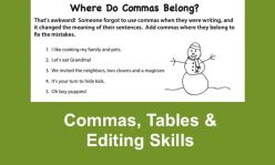 Comma Rules For Kids