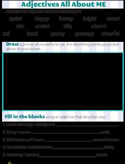 Brainstorm Descriptive Words