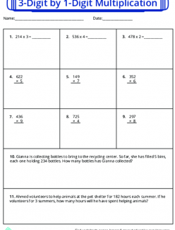 Multiply Two And Three-Digit Factors
