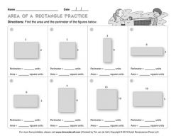 Find The Area Of A Rectangle: Easy