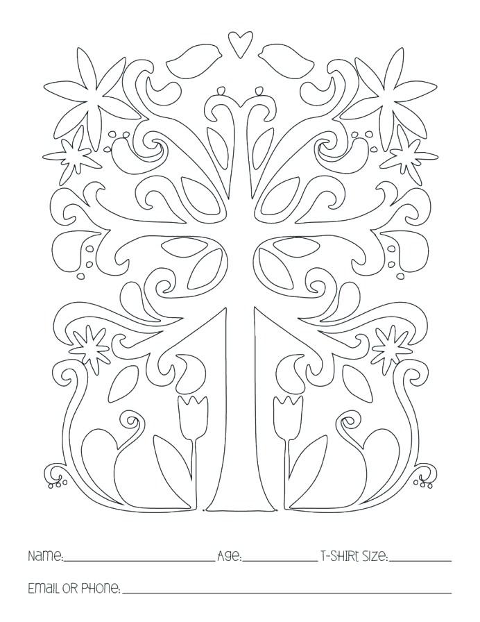 Art Lesson Plans Grid Drawing Worksheets High School Symmetrical