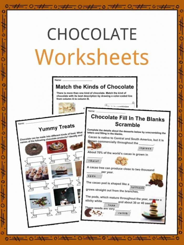 Chocolate Facts  Worksheets  Origin  Types   History For Kids