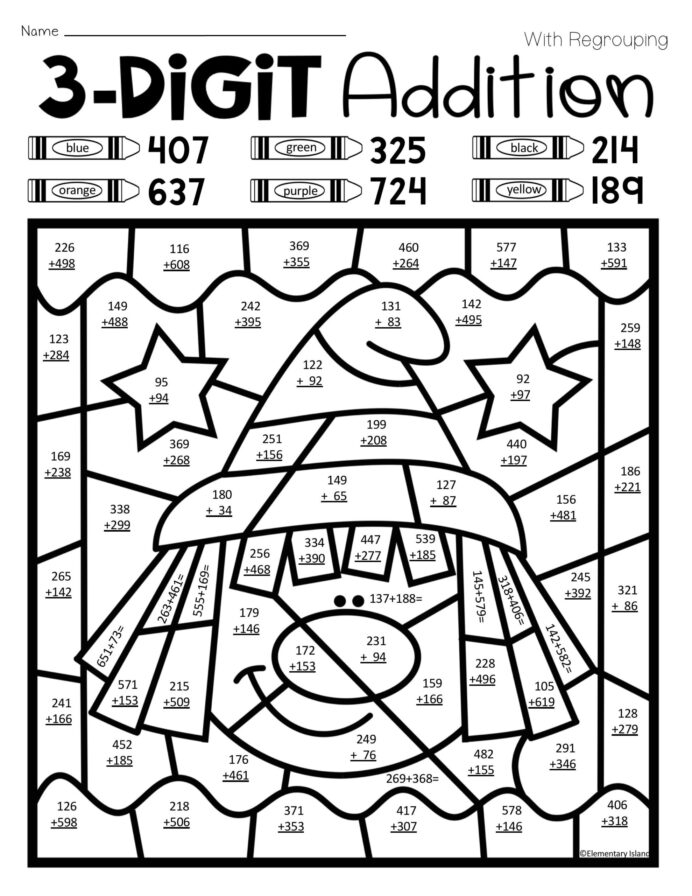 Coin Worksheets Free Cute Doll Coloring Write Numbers  To