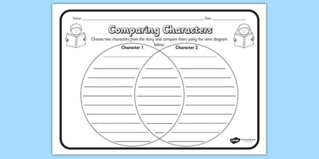 Comparing Characters Reading Comprehension