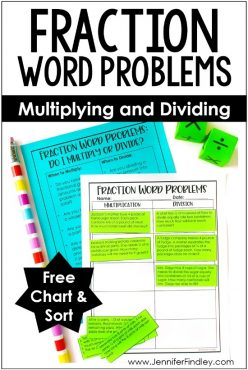 Multiplying Fractions Word Problems #3